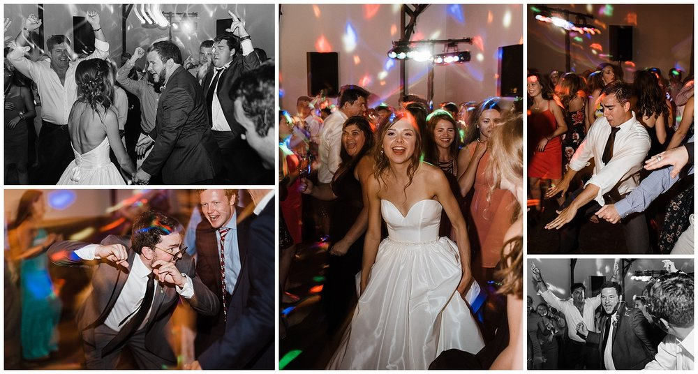 Tanner Burge Photo - Wedding Reception Dancing at Megan & Blake's Sassafras wedding