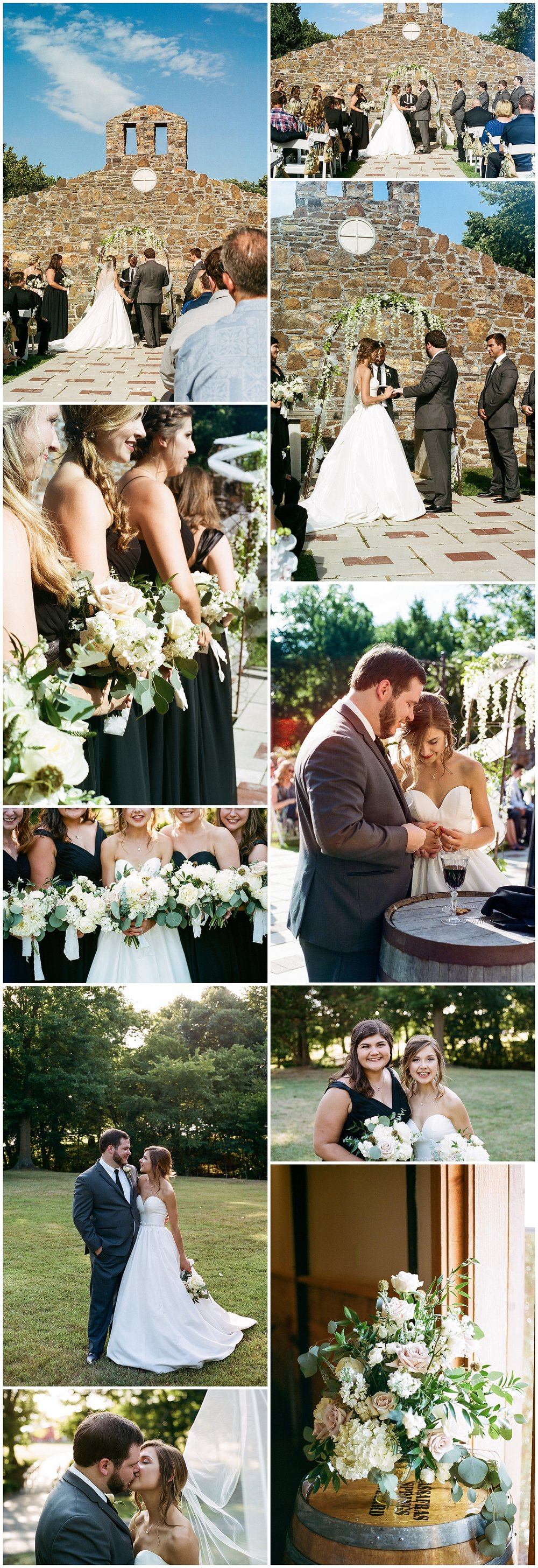 Tanner Burge Photo - Portra 400 Wedding Film 35mm Megan & Blake