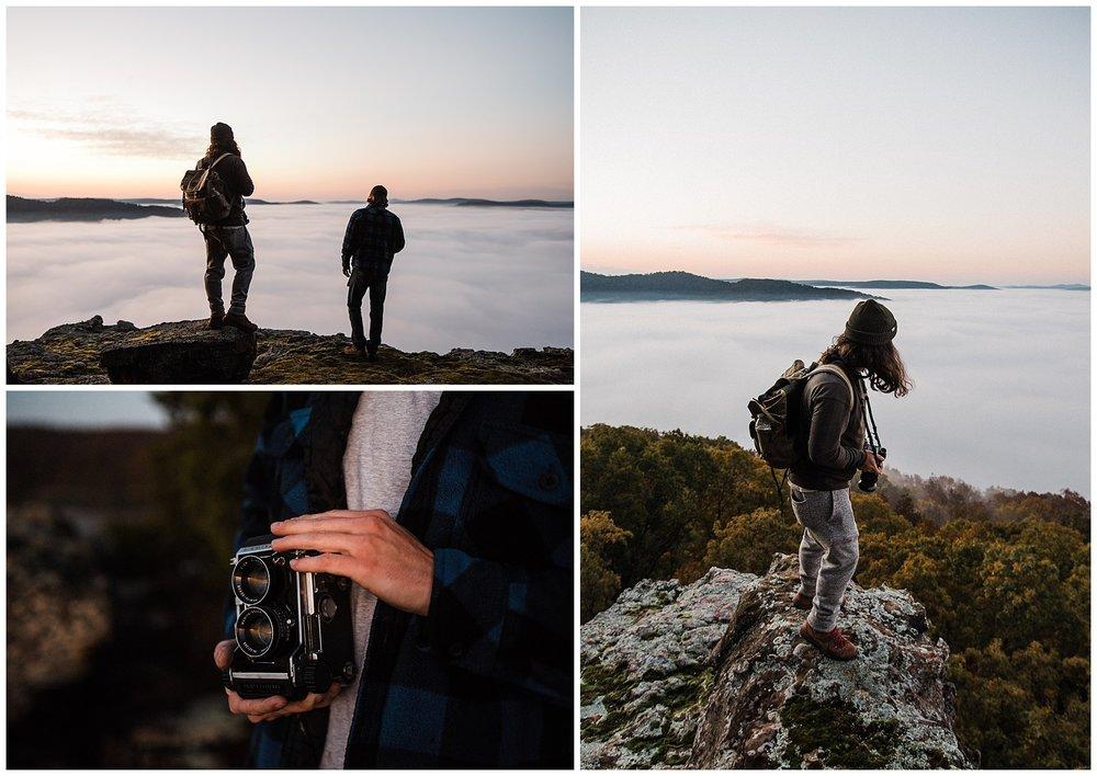 Sunrise adventure photography arkansas tanner burge photo