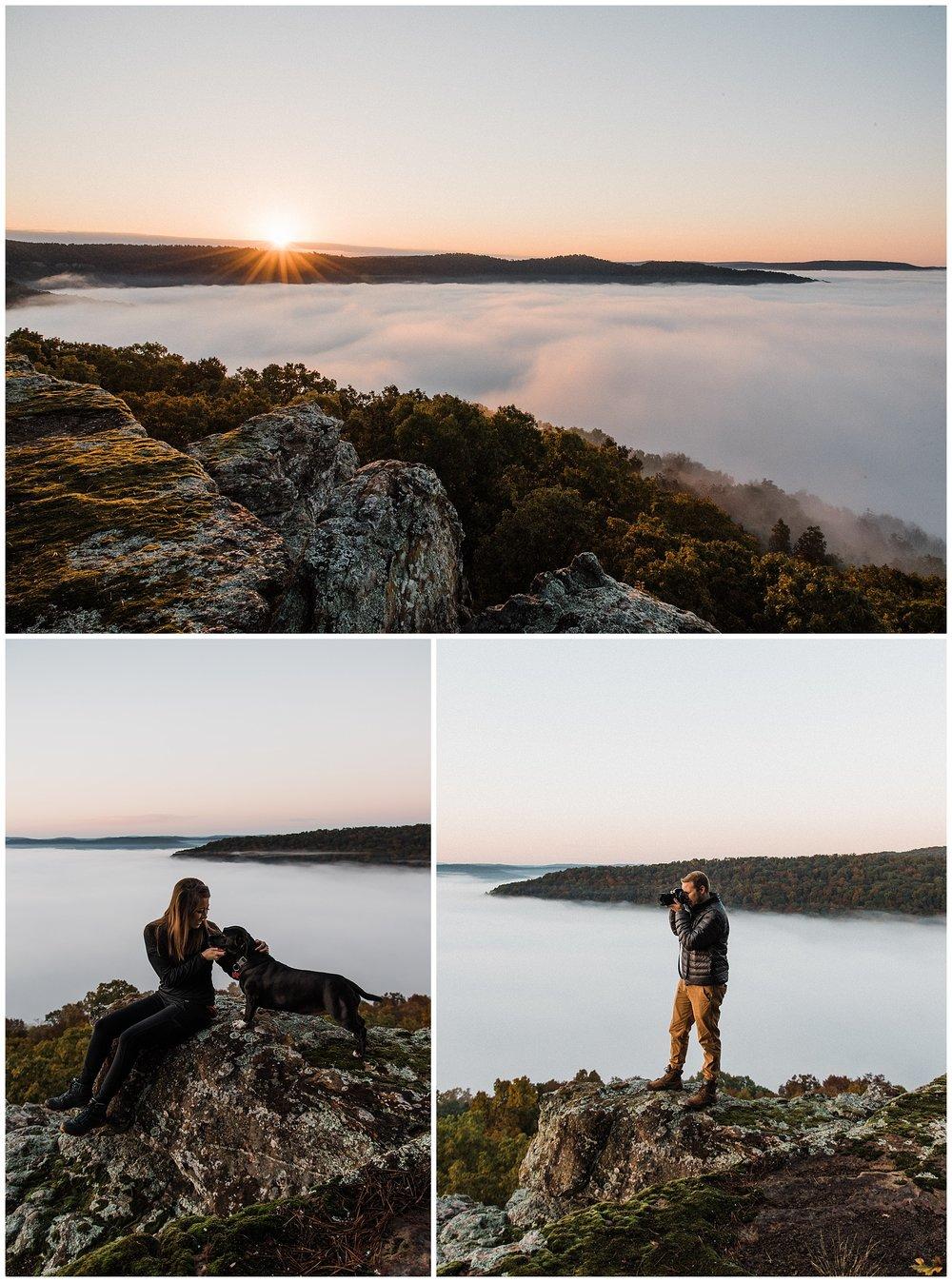 sunrise photography in arkansas tanner burge photo