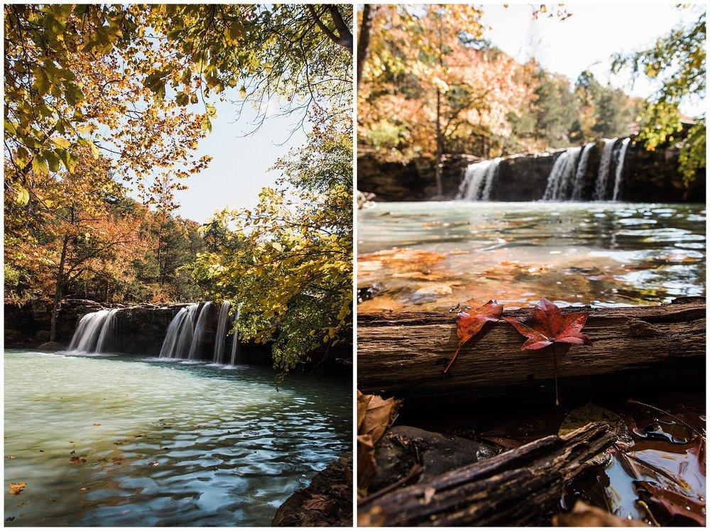 Falling Water Falls Autumn 2018 Tanner Burge Photo