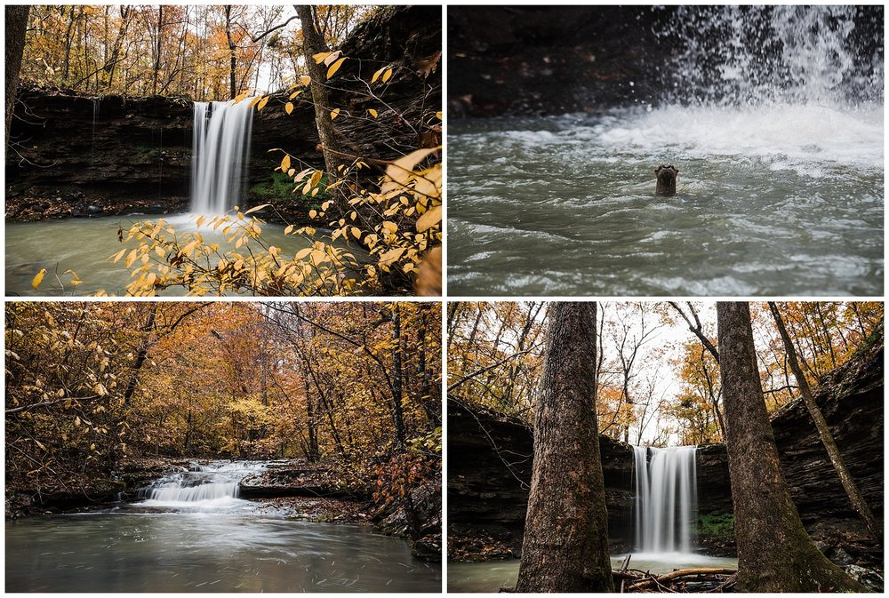 Amber Falls Otter Fall Color Tanner Burge Photo