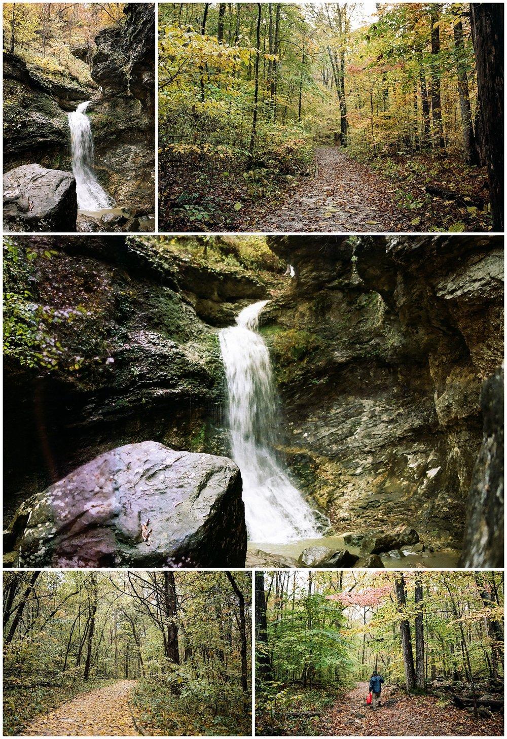 Lost Valley Eden Falls Portra 160 35mm Tanner Burge Photo