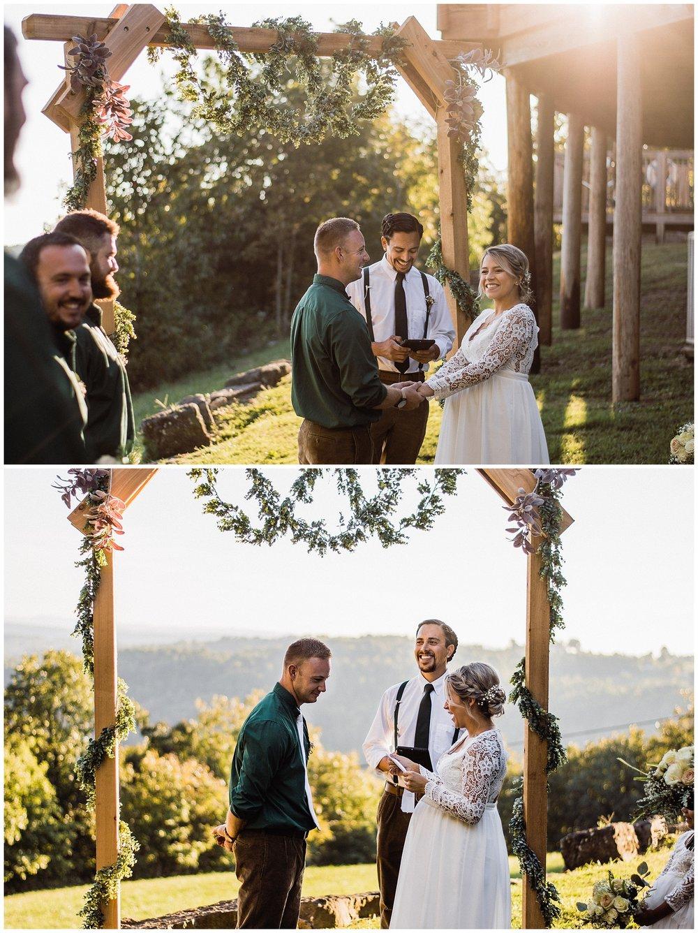 Tanner Burge Photography // Sam and Cory Mountain Riverwind Lodge Wedding - Buffalo Outdoor Center
