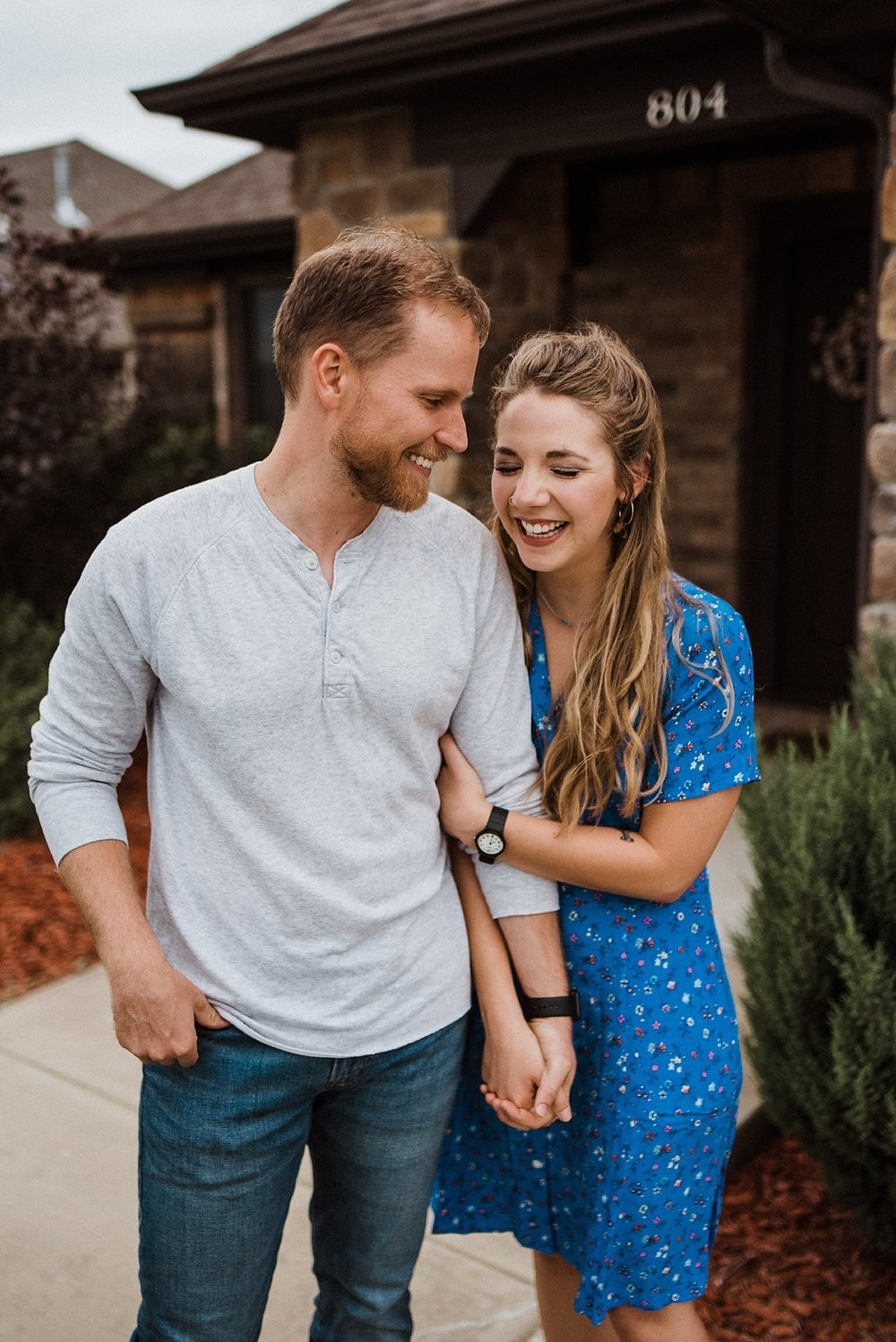 Julia & Travis In Home Session Arkansas Tanner Burge Photography