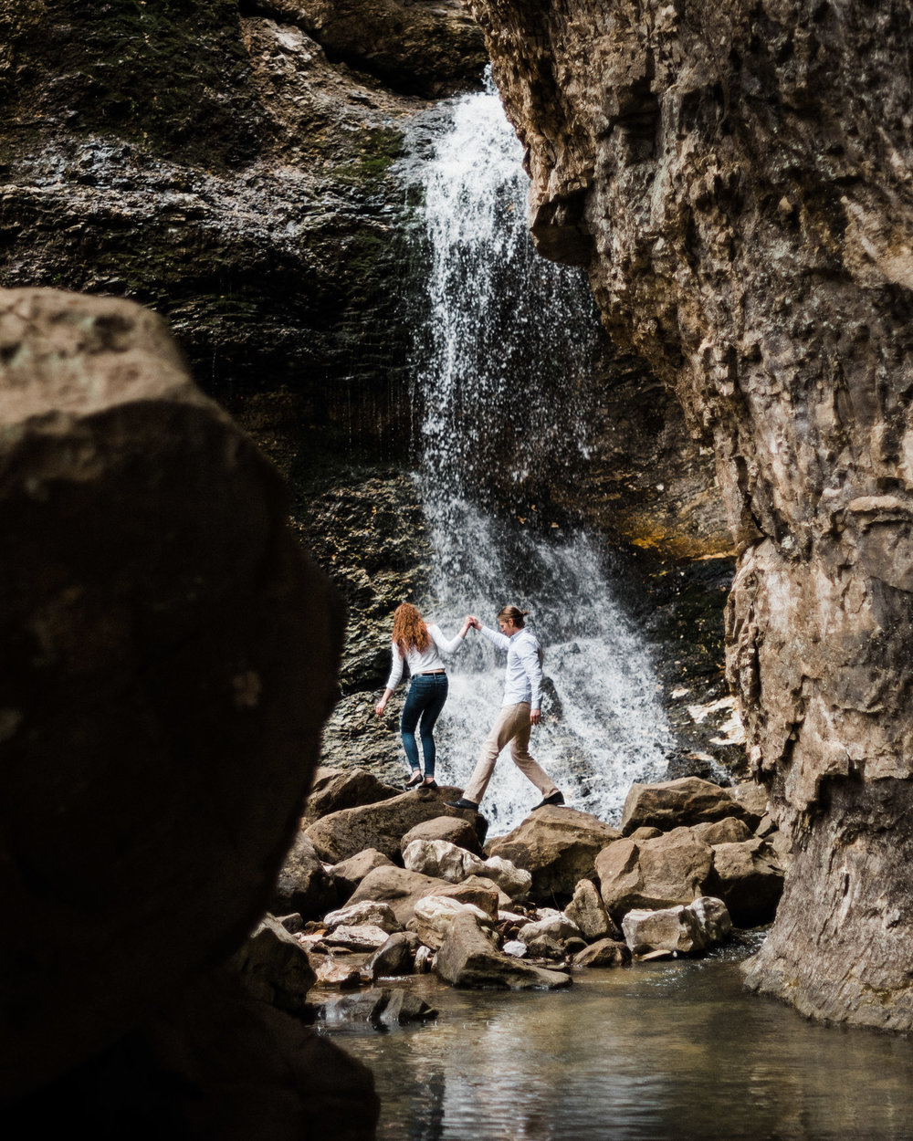 Blake & Olivia Engagements at Lost Valley - Tanner Burge Photography .jpg
