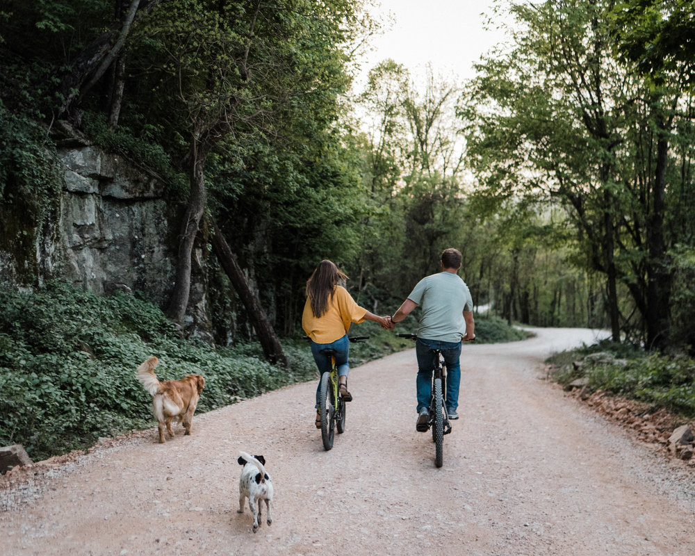 Mountain Bike & Dogs Engagements with Keri & Macauley - Tanner Burge Photography.jpg