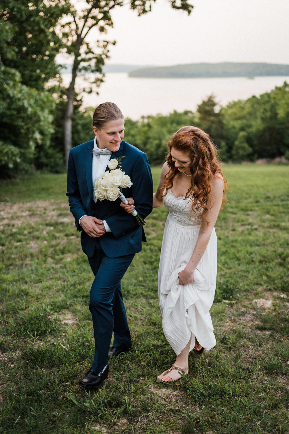 Olivia & Blake Norfork Lake Wedding - Tanner Burge Photography