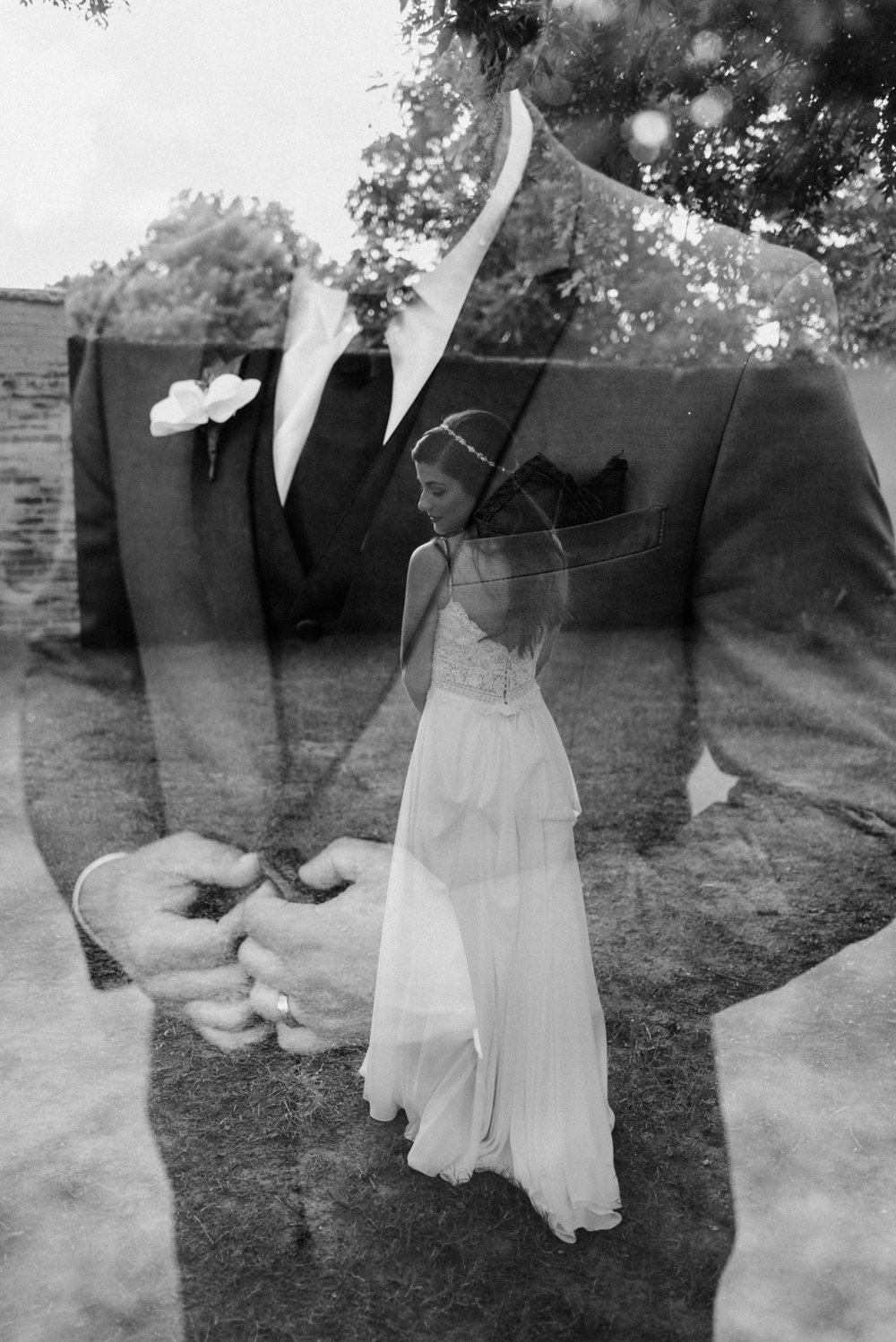 Double Exposure Wedding Portrait with Catherine & Matt at Ballroom at I Street - Tanner Burge Photography.jpg