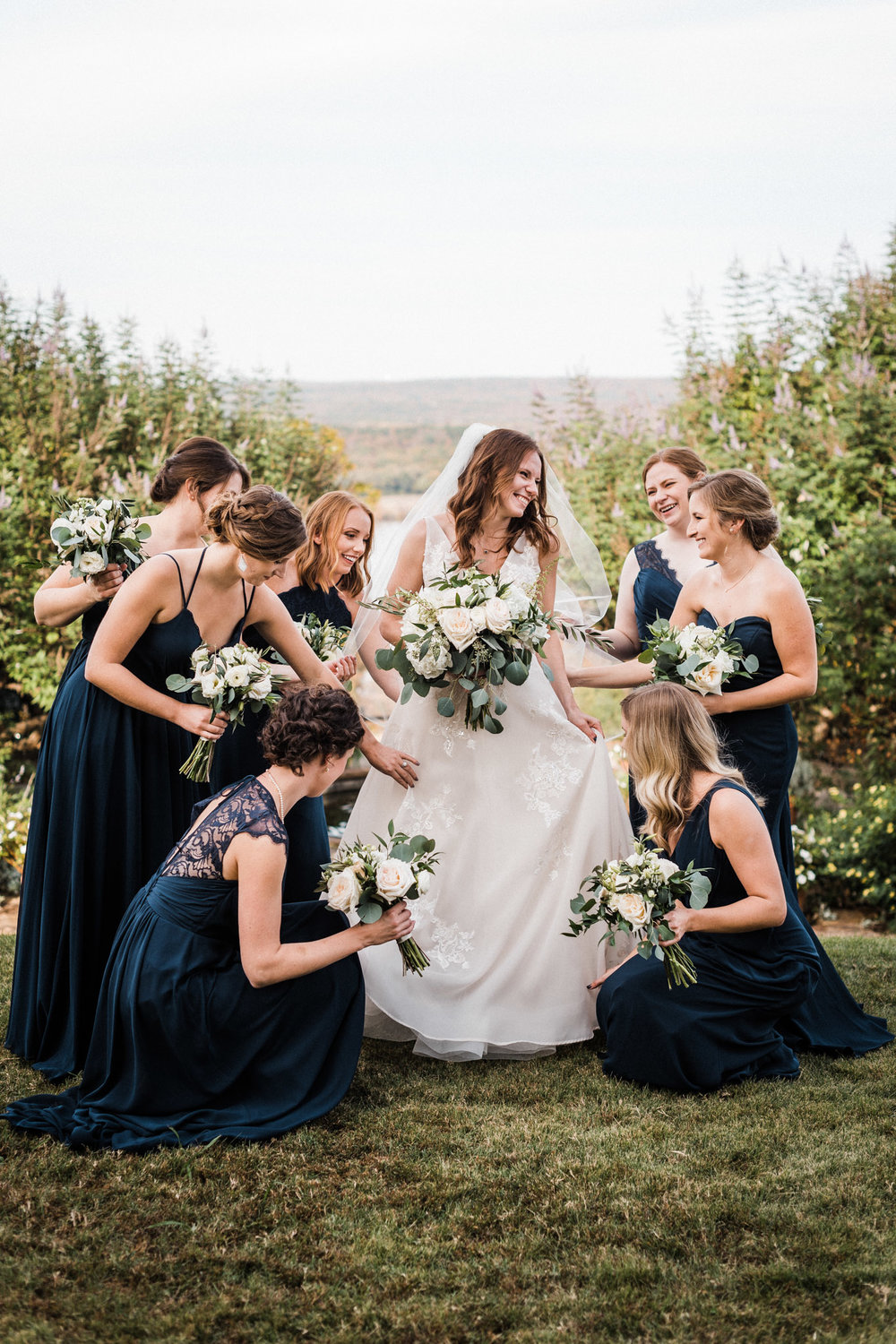 Tanner Burge Photography - Moss Mountain Farms Wedding with Sarah & Colin // Bridesmaids.jpg
