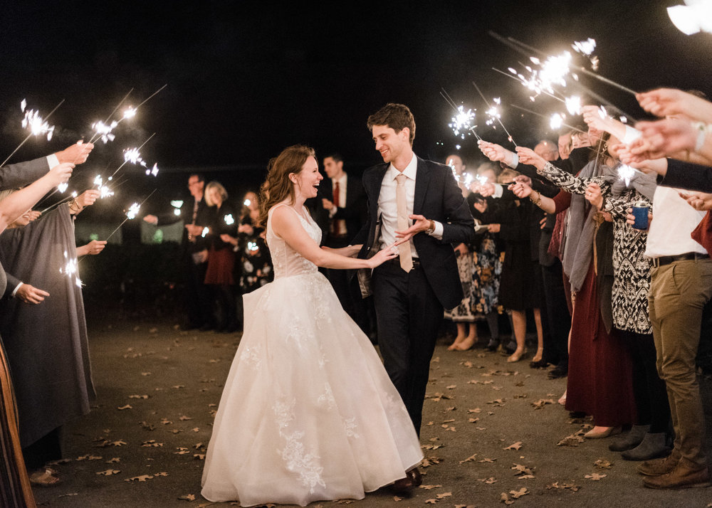 Tanner Burge Photography - Moss Mountain Farms Wedding Sparkler Exit with Sarah & Colin.jpg