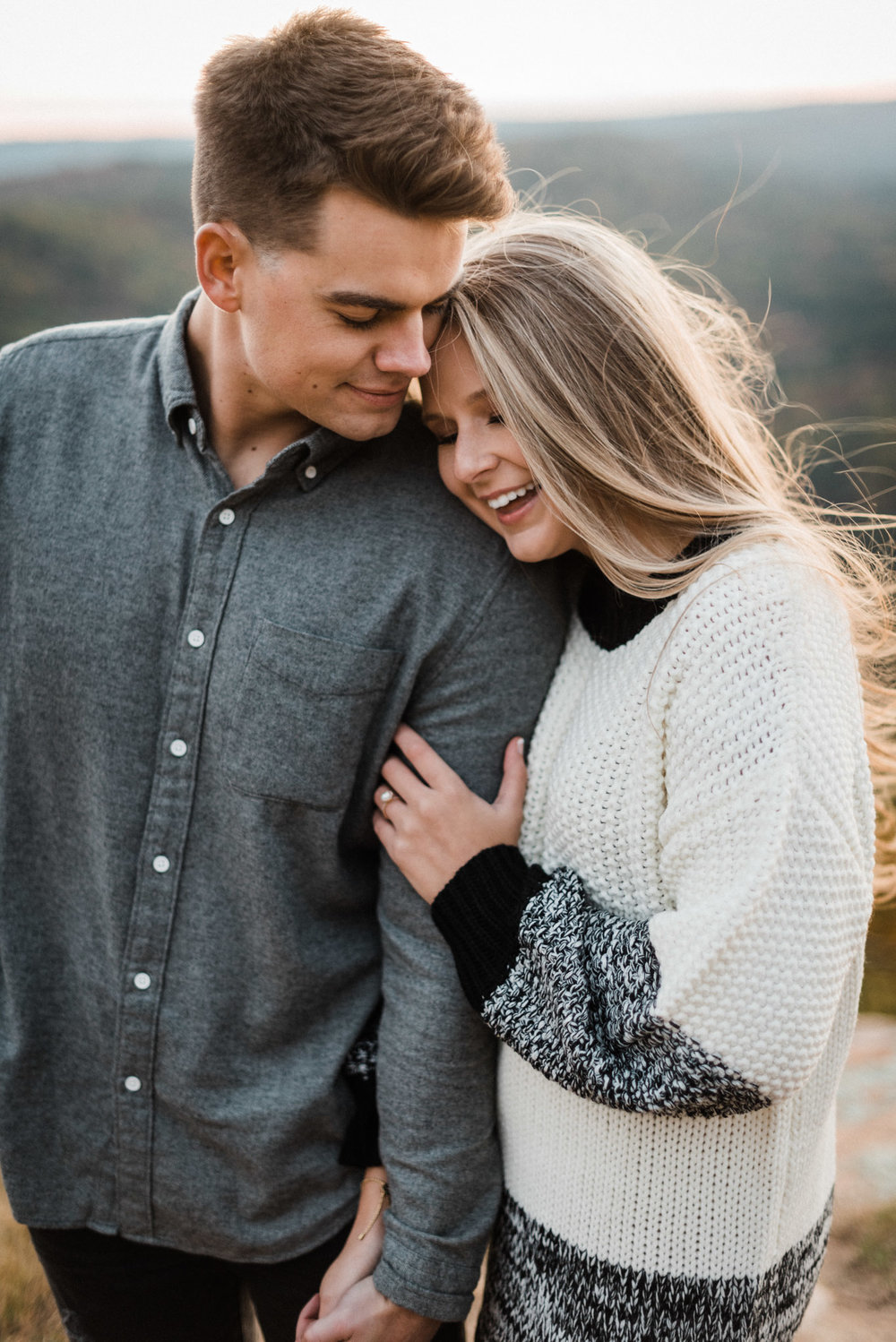 Tanner Burge Photography - Leah & Colby Adventure Engagement Session Petit Jean State Park.jpg