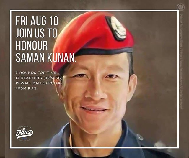 On Friday we will be hosting the Saman Hero WOD. Every class and in between...we will have scaled and team options so everyone can participate.  Saman Kunan, 38, a former member of the elite Navy SEALs unit, was the only casualty in a multinational operation to save the boys and their coach after monsoon rains trapped them in the cave they were exploring in northern Thailand early July. We will be collecting donations on the day that will be forwarded to CrossFit Chiang Mai who will in turn be collecting for his family. #crossfit #crossfit_chiang_mai #herowod #thailandcaverescue #thamluangcave