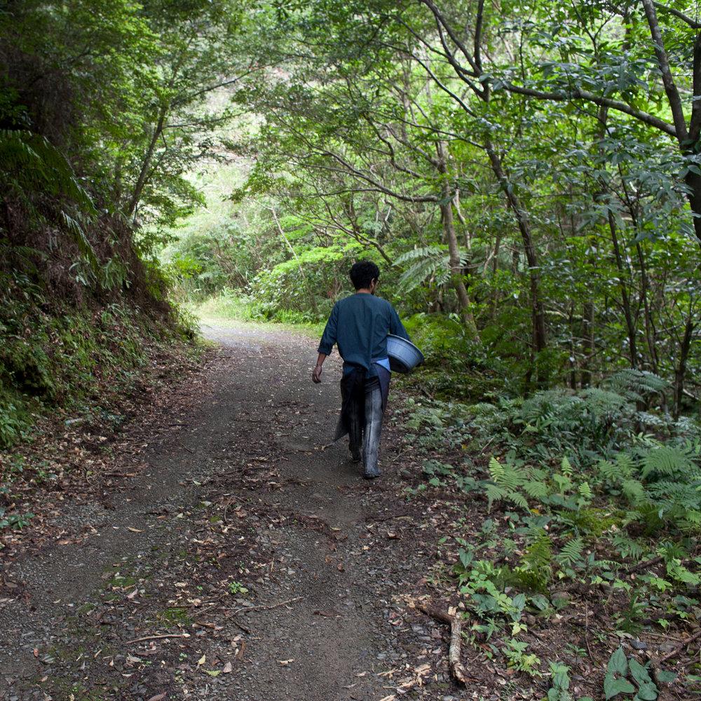 BEAUGAN 泥染め 自然 dorozome path