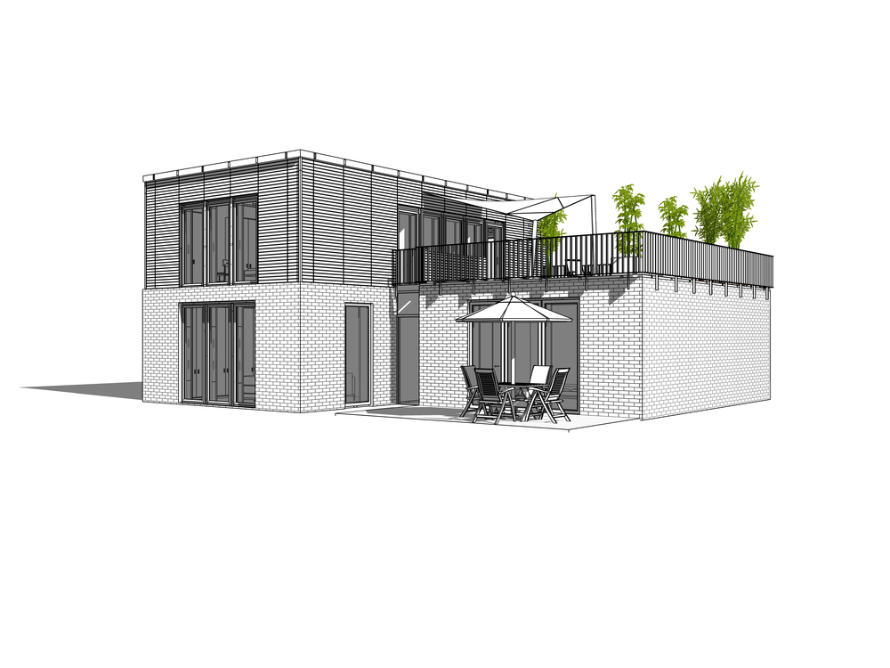 Beispiel Einfamilienhaus Si Modular