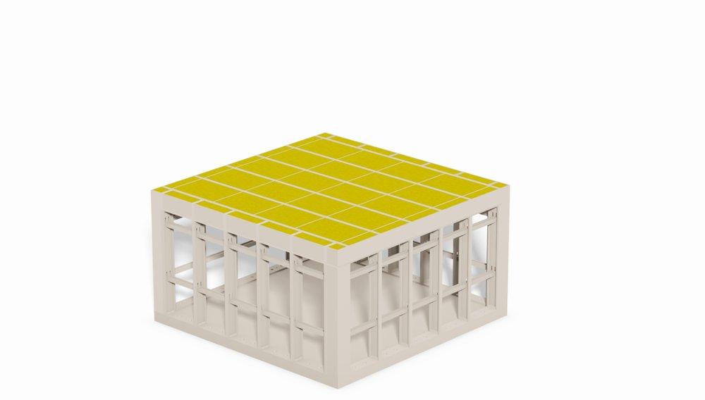 flachdach si modular. Black Bedroom Furniture Sets. Home Design Ideas