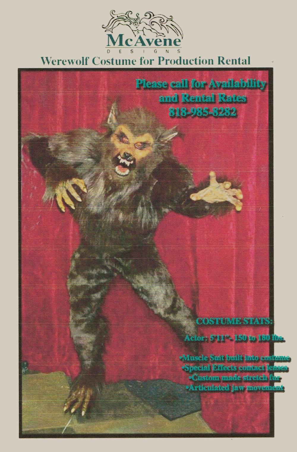 Werewolf - Costume