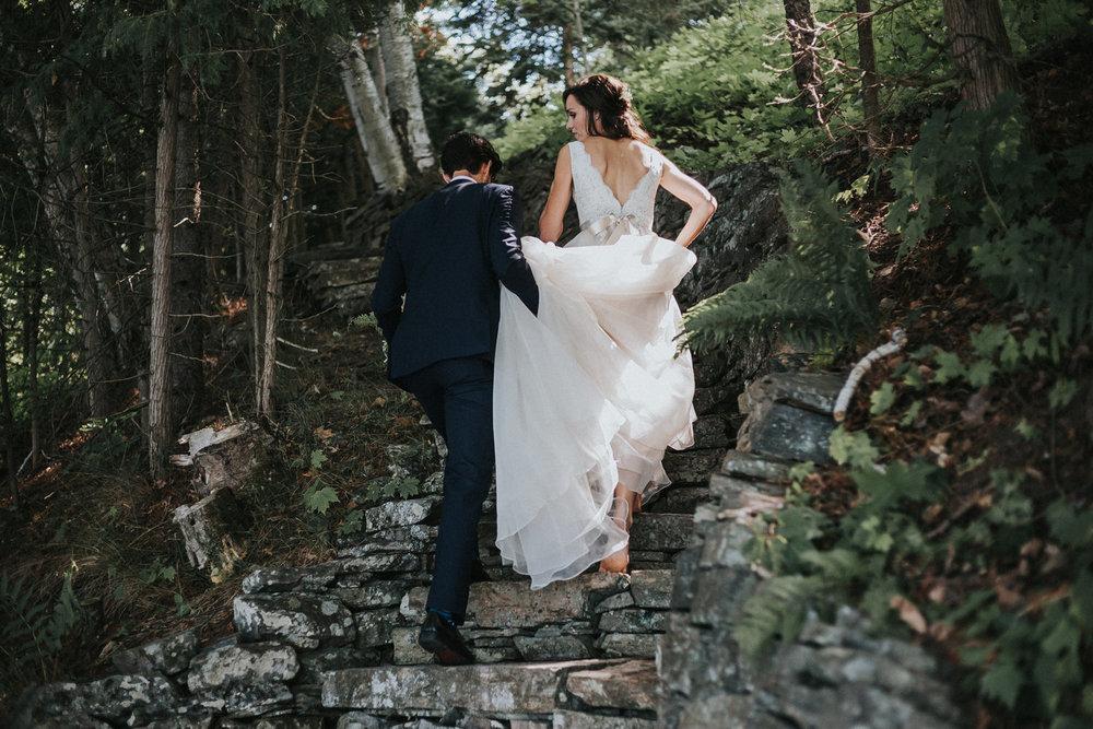 BRITTANY & JOSH      MUSKOKA WEDDING
