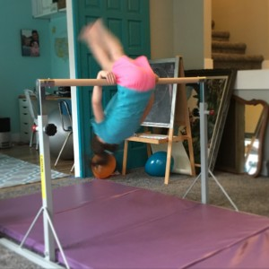 Gymnastics Bar-kickover