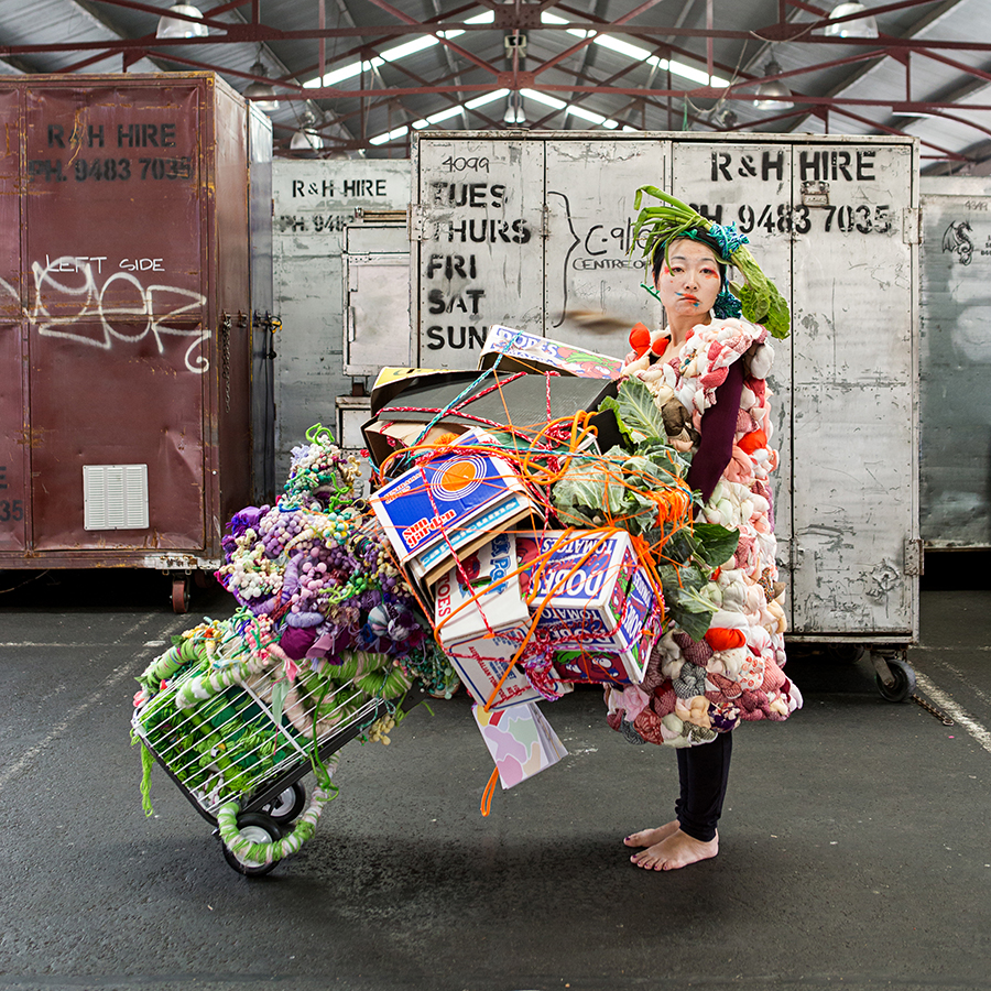 The Age, 'Melbourne Festival: Biennial Lab at Queen Vic Market showcases fresh produce'