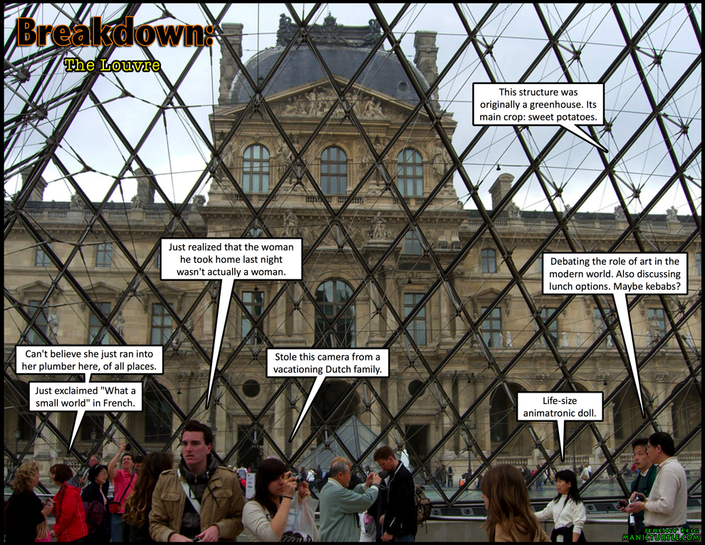 Breakdown: The Louvre