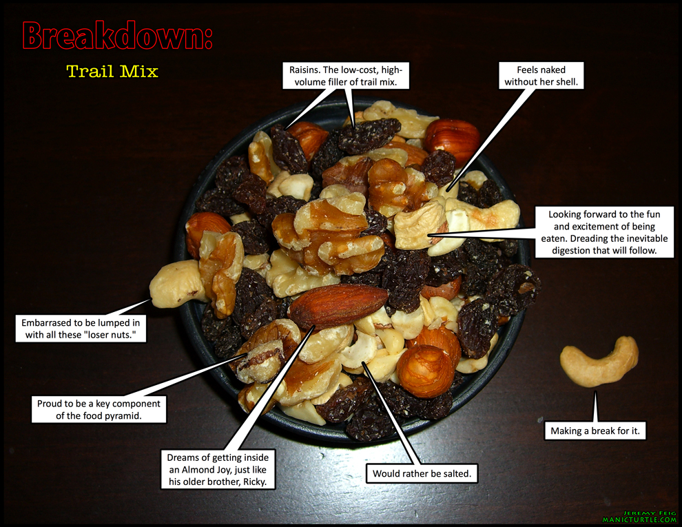 Breakdown: Trail Mix