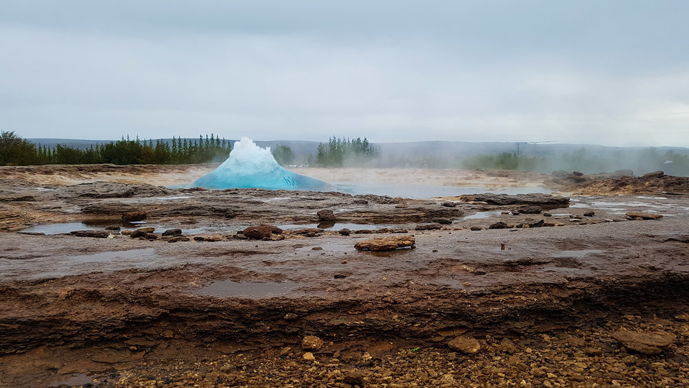 Geysir    surroundings    -  sometimes known as The Great Geysir, is a  geyser  in southwestern  Iceland .