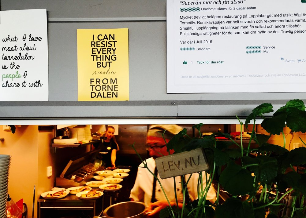 Köksmagi Restaurang Utblick