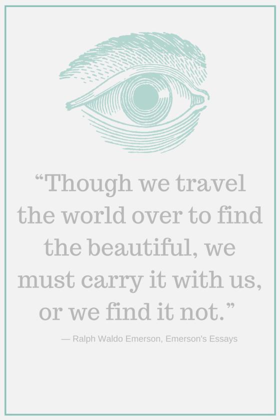 through the travel