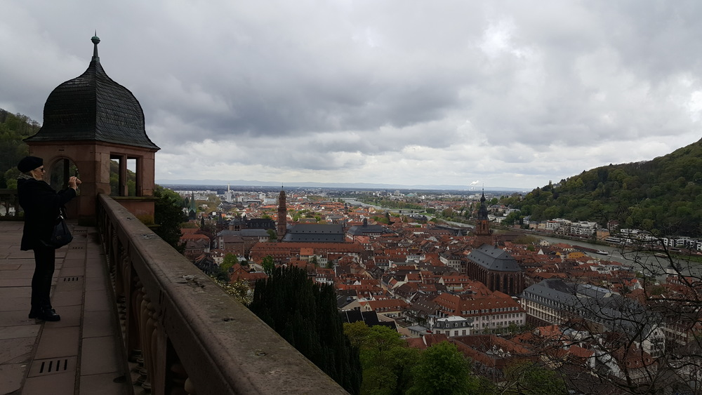 Heidelberg castle, April Big Things, Expat Living