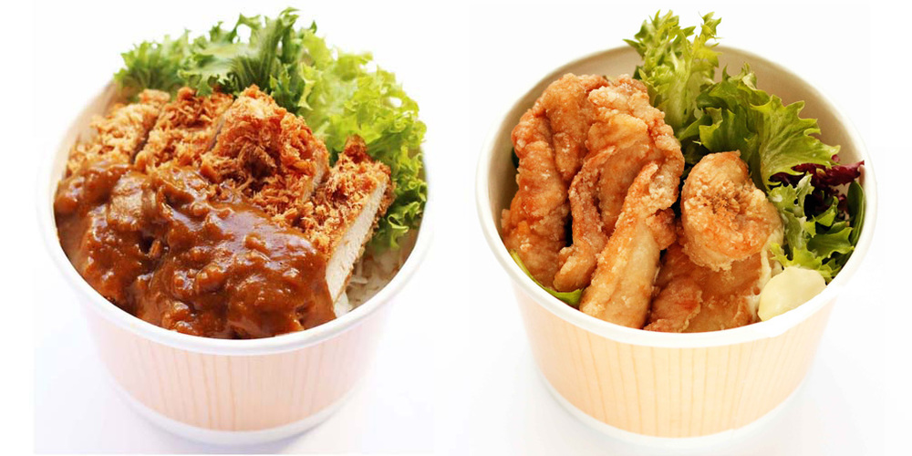 Chicken Katsu Curry Don/Karaage Chicken Don