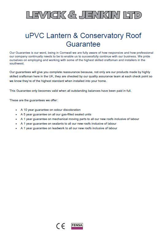 uPVC lantern Guarantee.JPG