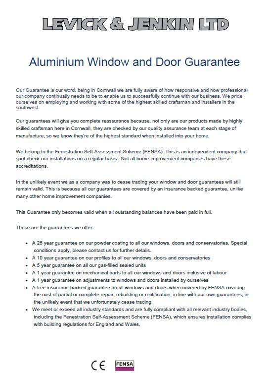 Aluminium Guarantee.JPG