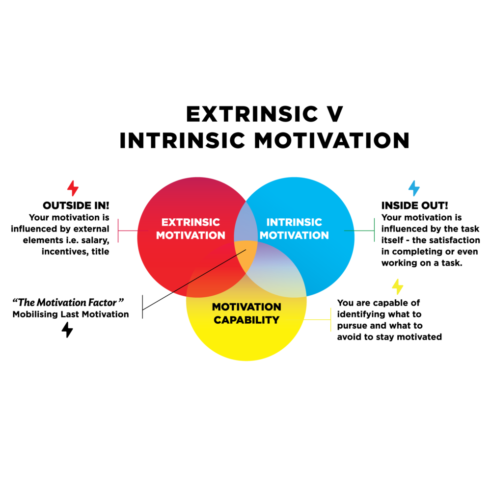 extrinsic and intrinsic motivation of employees in organizations Most employers try to increase employees' intrinsic motivation (for instance, by providing job autonomy and constructive feedback, by highlighting the importance of the work tasks, or by providing competitive base wages) while also providing incentives intended to increase extrinsic motivation through salient incentives that are contingent on.
