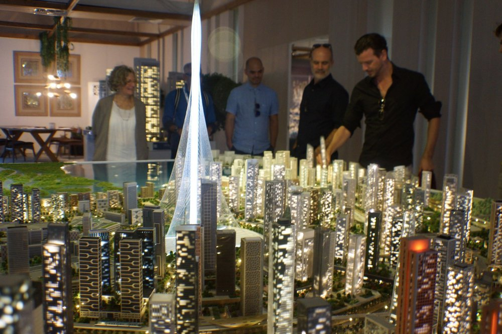 Dubai City Centre for 2020 World Expo.