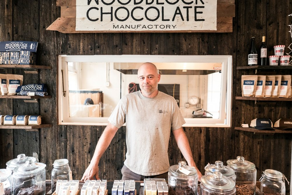Charley, the chocolatier from Portland, Oregon.