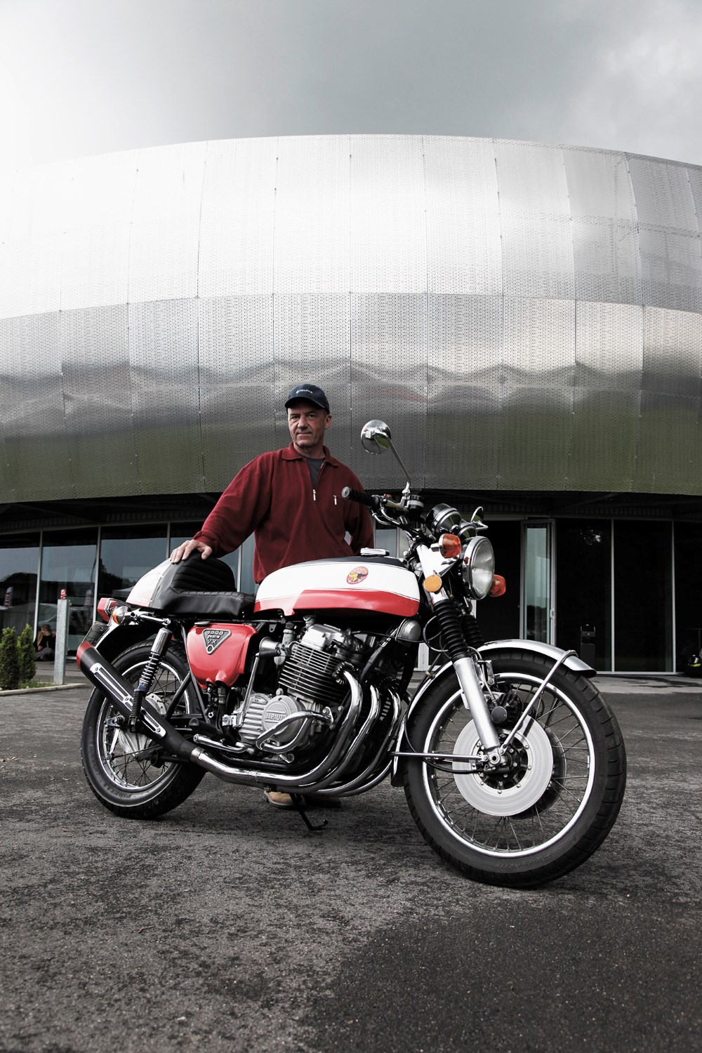 Paris-based Honda specialists  Japauto built Bol d'Or winning bikes and sold   kits to transform the CB750 into a big-bore   1000 like this one owned by Patrick Massé