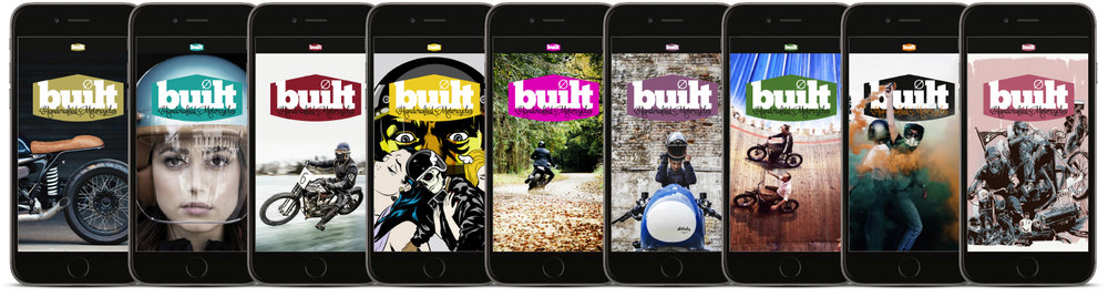 Built magazine is now available as a custom built digital app on iOS and Andriod