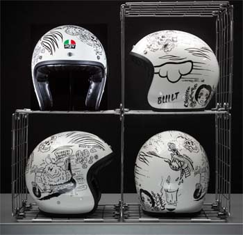 Win an AGV X70 helmet doodled by professional artists