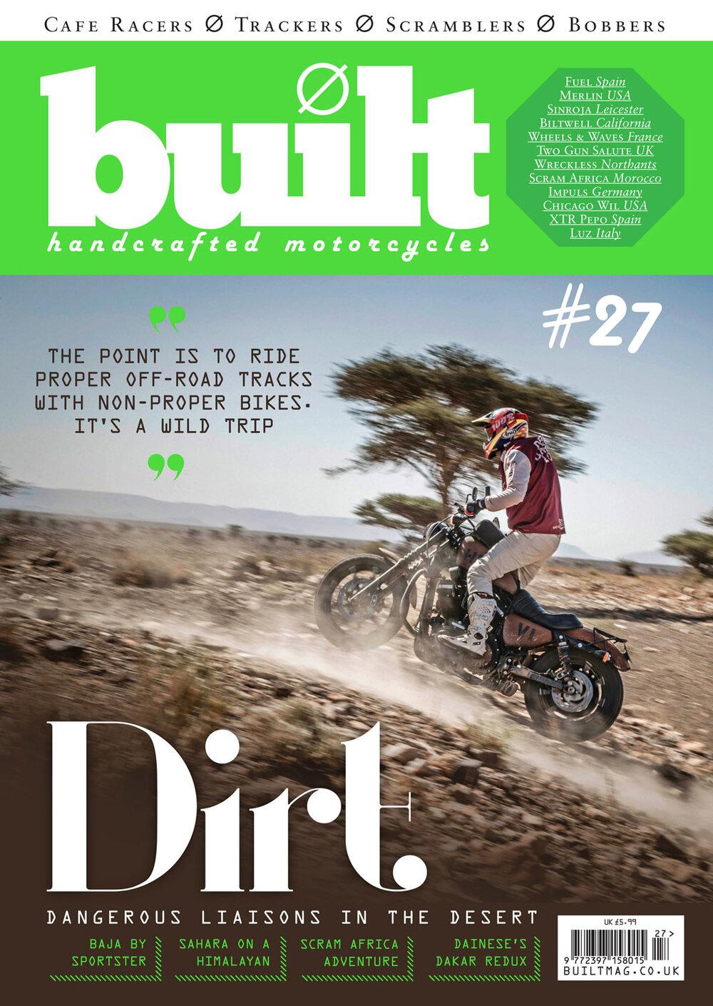 Built Magazine - Handcrafted Custom Motorcycles - MAGAZINE