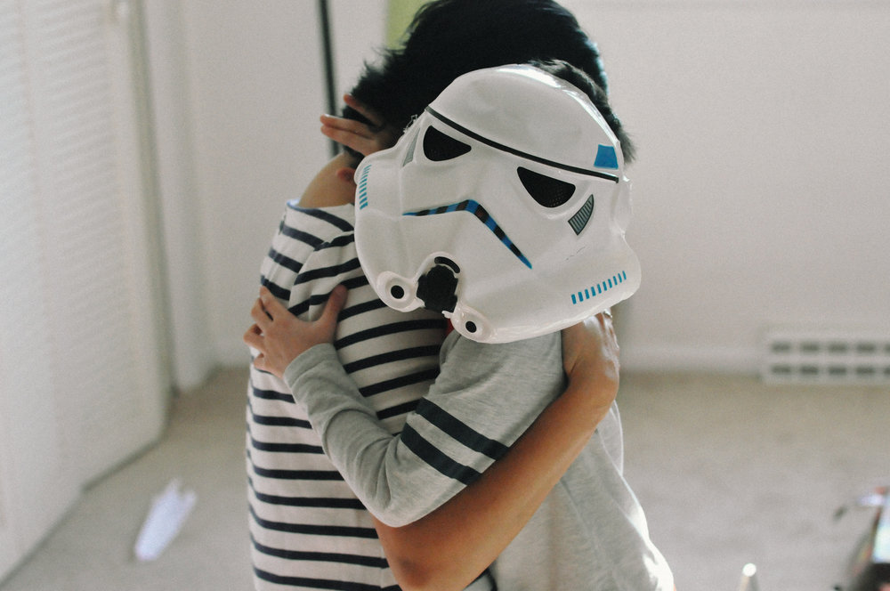 southern-maryland-in-home-documentary-family-session masked hug.jpg