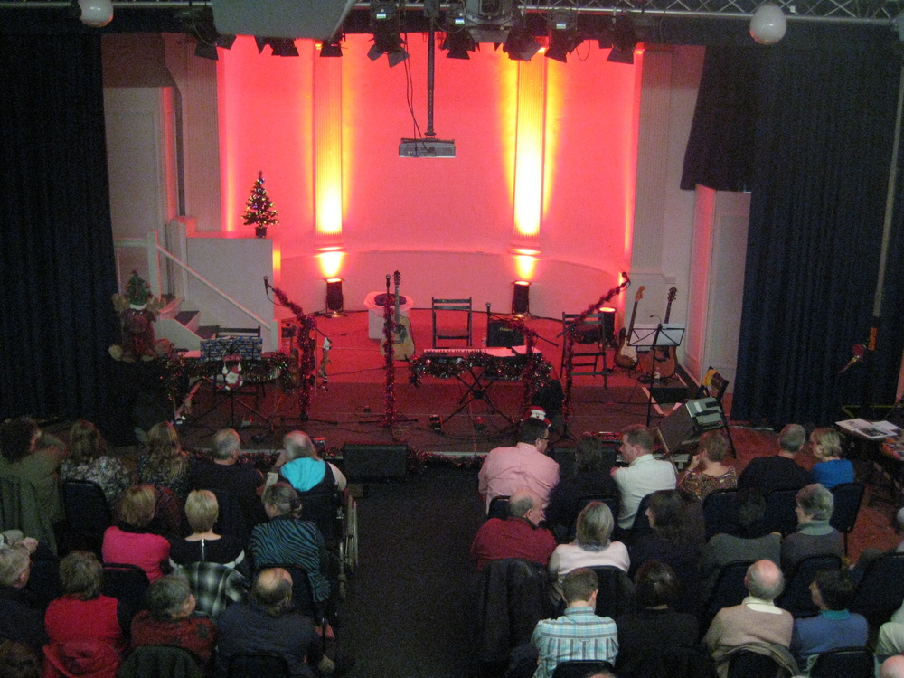 A sold-out show at The Mission Theatre