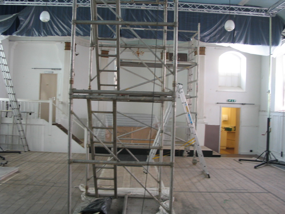 The renovation of the Main Auditorium