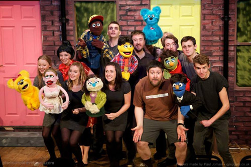Bath Light Operatic Group performed 'Avenue Q' at The Mission in 2014