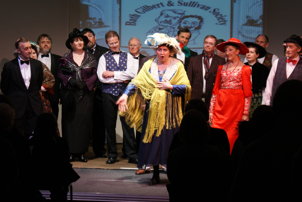 The Bath Gilbert & Sullivan Society perform at The Mission Theatre each year
