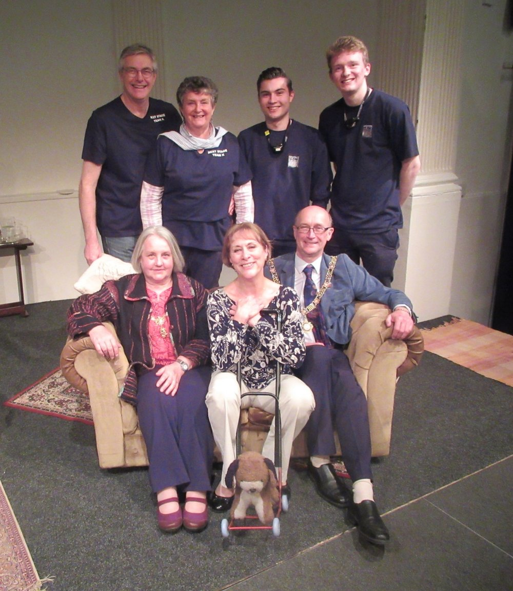 Mayor, Mayoress, cast and crew (1).JPG