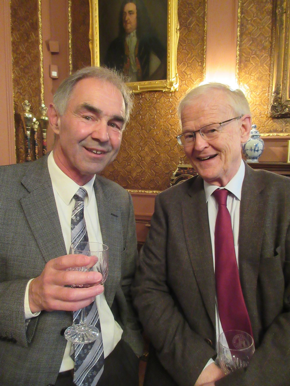 Patrons Ian Simpson and Andrew Fletcher OBE