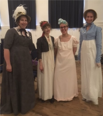 Jane Austen Festival Stewards at The Mission Theatre