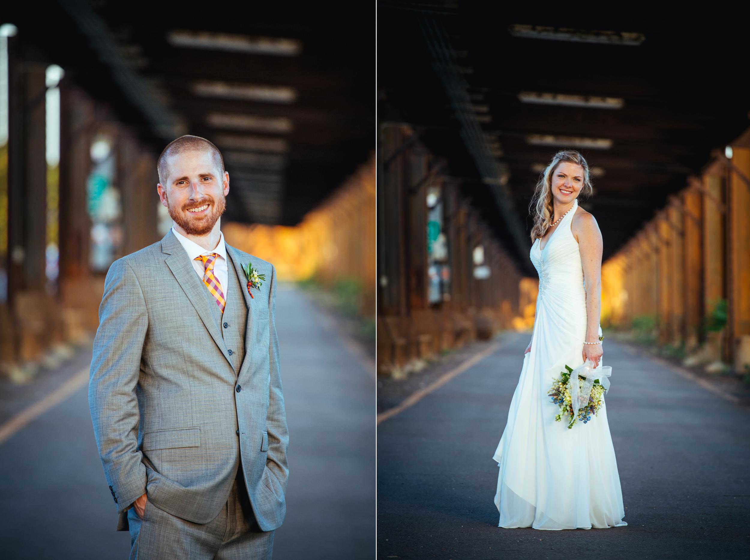 canal walk wedding