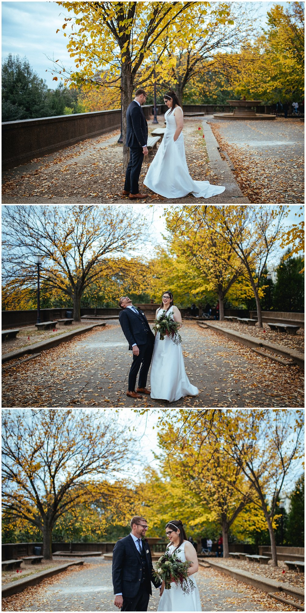 DC fall wedding